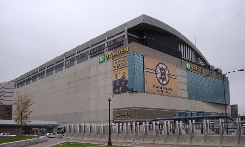 TD Garden Boston, Massachusetts in Ted 2