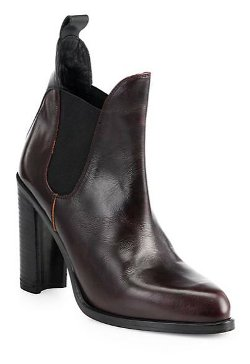 Stanton Leather Chelsea Ankle Boots by Rag & Bone in A Most Violent Year