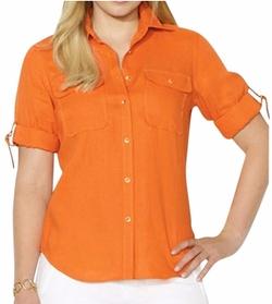 Arena Linen Shirt by Ralph Lauren in The Boss