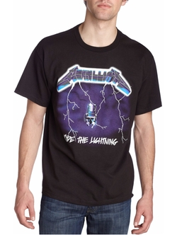 Men's Metallica- Ride Lightning T-Shirt by Bravado in The Place Beyond The Pines