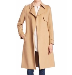 Oaklane Wrap Coat by Theory in Miss Sloane