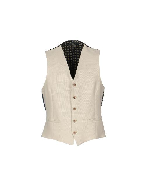 Men's Suit Vest by Henry Cotton's in Unbroken