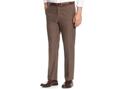 Brushed Flat-Front Dress Pants by Tasso Elba in Modern Family
