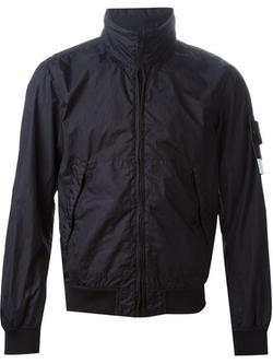 Zipped Windbreaker Jacket by Stone Island in Mr. & Mrs. Smith