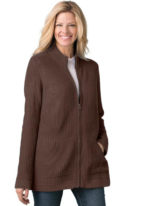 Zip Front Sweater by Woman Wihttin in No Strings Attached