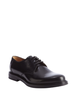 Leather Lace Up Oxfords Shoes by Gucci in Legend