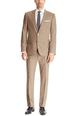 Stretch Cashmere-Wool Suit by Boss Hugo Boss in The Nice Guys
