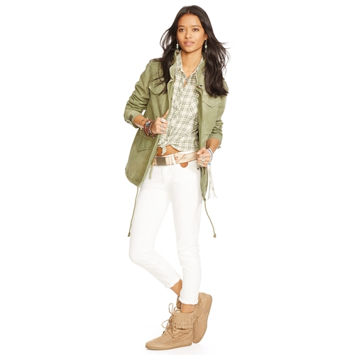 Macrame Field Jacket by Ralph Lauren in Pretty Little Liars - Season 6 Episode 5