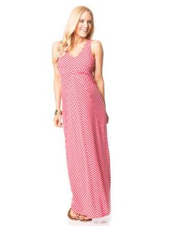 Sleeveless Empire Waist Maternity Maxi Dress by Motherhood in And So It Goes