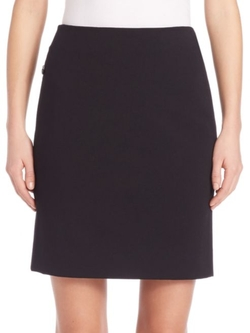 Jersey Pencil Skirt by Akris Punto in Supergirl