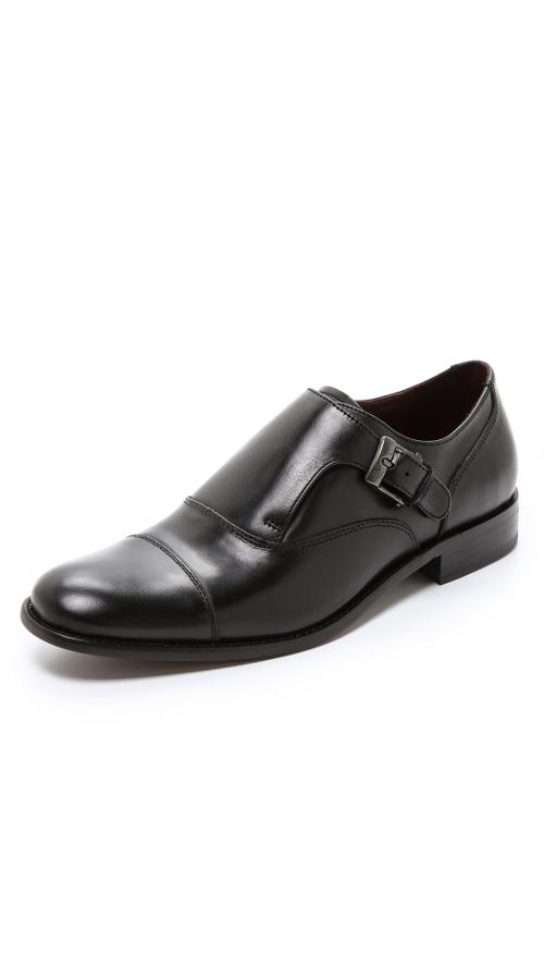 Luxe Monk Strap Oxfords by John Varvatos Star USA in Ride Along