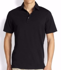 Oxford Polo Shirt by Saks Fifth Avenue Collection in Trainwreck