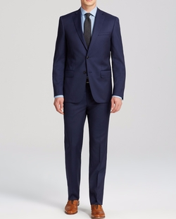 Luxe Solid Suit by John Varvatos Star USA Luxe in Notorious