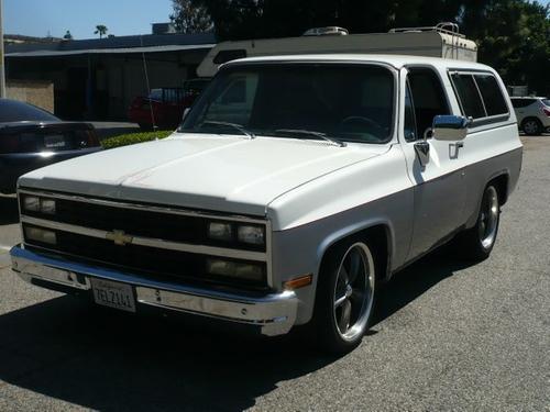 1975 Blazer SUV by Chevrolet in Regression