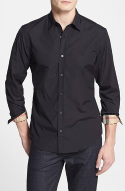 Cotton Sport Shirt by Burberry Brit in Top Five