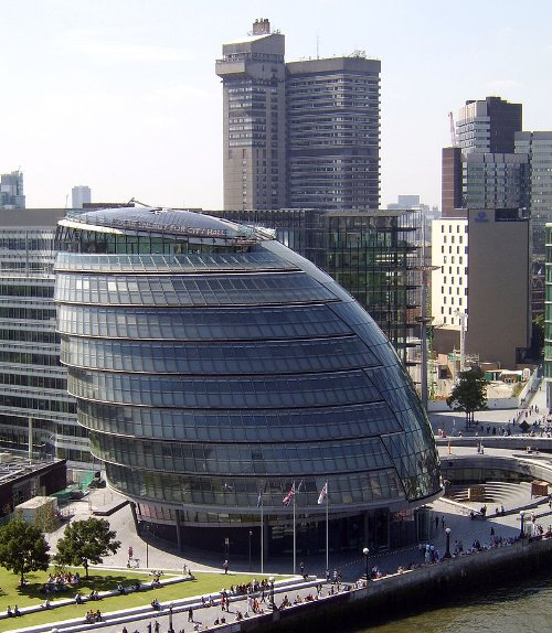 City Hall London, United Kingdom in The Gunman