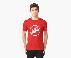 Rock Band Instrument Symbol - Bass Shirt by Redbubble in Scott Pilgrim Vs. The World