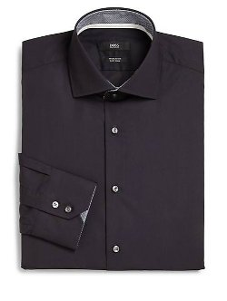 Solid Dress Shirt by Boss Hugo Boss in Begin Again
