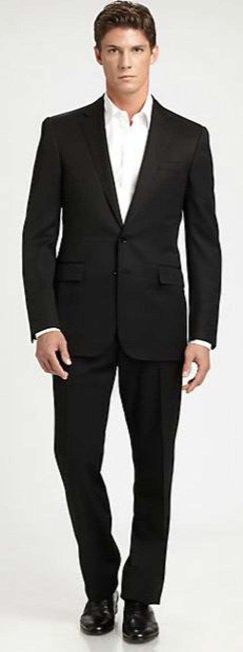 Anthony Wool Gabardine Suit by Ralph Lauren Black Label in Need for Speed