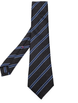 Striped Tie by Isaia in The Departed