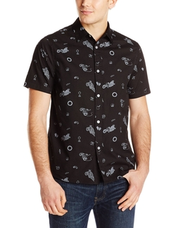 Wheelie Short Sleeve Shirt by Poler in Modern Family