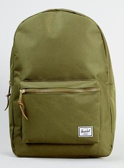 Green Backpack by Herschel in Jurassic World