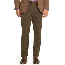 Straight-Fit Tricotine Trousers by Ralph Lauren in Ballers