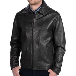 Lambskin Motorcycle Jacket by Golden Bear in Nashville