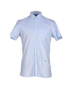 Short Sleeve Button Down Shirt by Dondup in The Flash