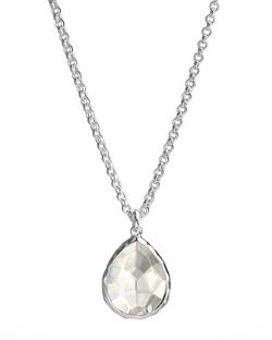 Quartz Teardrop Necklace by Ippolita in The Other Woman