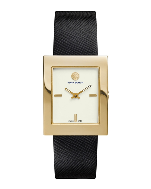 Buddy Classic Leather-Strap Watch by Tory Burch in Suits - Season 5 Episode 5