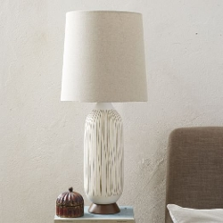 Mid-Century Table Lamp by West Elm in The D Train