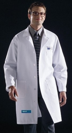 Unisex Knee Length Lab Coats by Medline in Fight Club