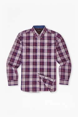 Scattered Poems Plaid Shirt by French Connection in Black-ish