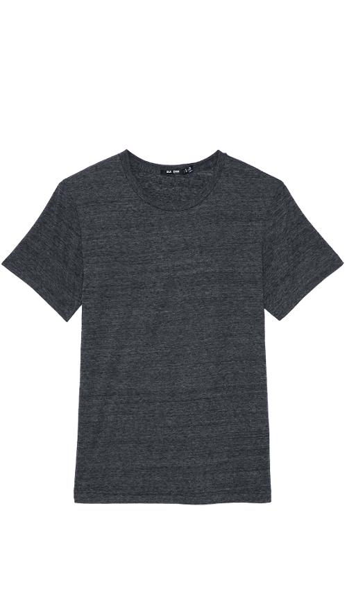 Crew Neck T-Shirt 3 by BLK DNM in Into the Storm