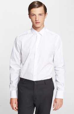 Slim Fit Cotton Dress Shirt by Lanvin in The Loft