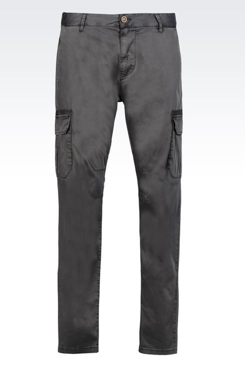 Stretch Cotton Trousers by Armani Jeans in Maze Runner: The Scorch Trials