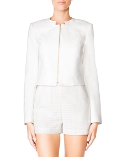 Zip Front Jacket by Tamara Mellon in The Vampire Diaries