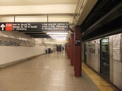 New York City, New York by Broad Street (BMT Nassau Street Line) in Begin Again