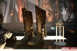 Custom Made Jet Boots (Peter Quill / Star-Lord) by Alexandra Byrne (Costume Designer) in Guardians of the Galaxy