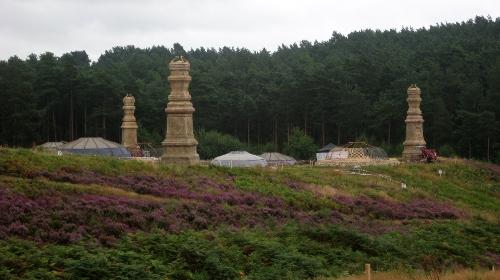 Bourne Wood Surrey, England in Thor: The Dark World