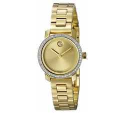 Bold Analog Display Gold Watch by Movado in How To Get Away With Murder