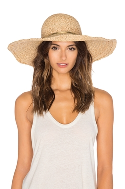Metallic Raffia Braid Sunhat by Hat Attack in The Good Place