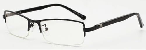 Black Memory Titanium Eyeglasses by Glasses By Me in Secret in Their Eyes