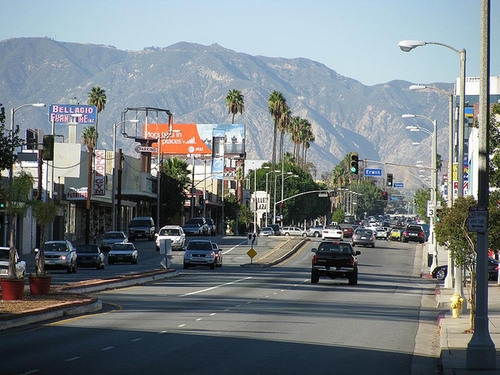 Laurel Canyon Boulevard Los Angeles, California in Straight Outta Compton