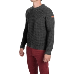 Waffle-Knit Sweater by Peregrine By J.G. Glover in Triple 9