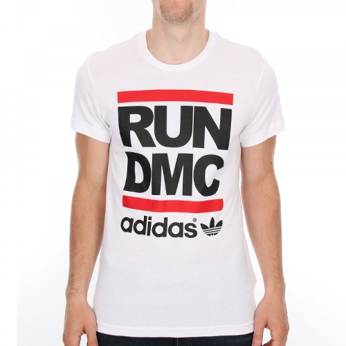 Run DMC T-Shirt by Adidas Originals in Dope