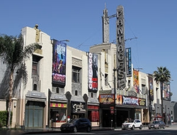 Los Angeles, California by Pantages Theatre in Life