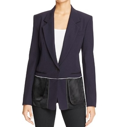 Notch Collar Inside Out Blazer by DKNY in How To Get Away With Murder