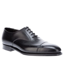 'Audley' Oxford Shoes by Crockett & Jones in Survivor